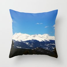 Golden Canyon State Park Throw Pillow