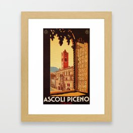 Old Ascoli Piceno Framed Art Print