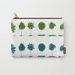 Winter mascara trees Carry-All Pouch