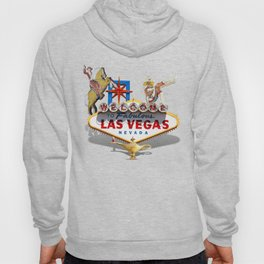 Las Vegas Welcome Sign Hoody