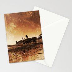 Awaiting the unavoidable erosion of Time Stationery Cards