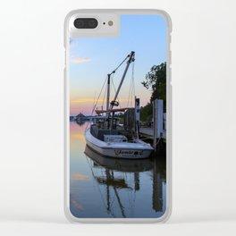 Sunset on Jones Creek II Clear iPhone Case