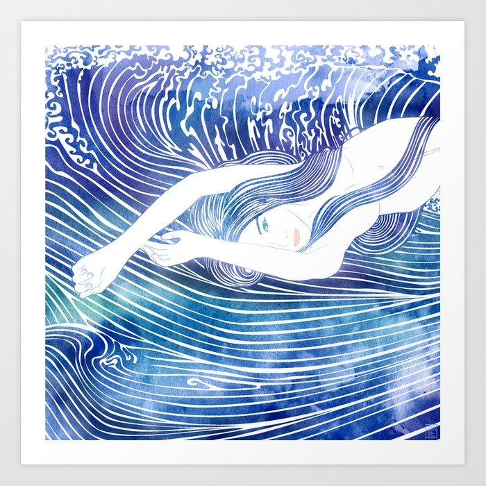 Water Nymph LVIII Art Print