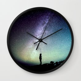 Deep Thoughts Of the Universe Wall Clock