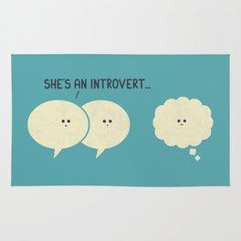 Introvert (Alt Version) Rug