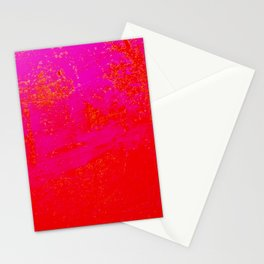 Red Pink Repercussion Stationery Cards