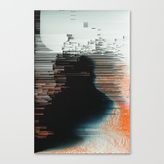 Disruptive Canvas Print