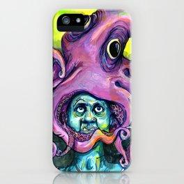 Derek the Octopus iPhone Case
