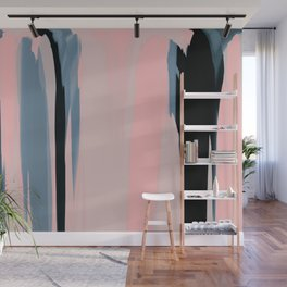 Soft Determination Peach Wall Mural