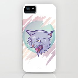 Space Kat iPhone Case
