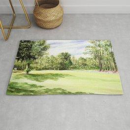Perry Golf Course Florida Rug