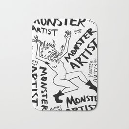 Monster Artist Bath Mat