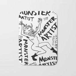 Monster Artist Bath Mat