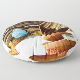 Sand Bowls Floor Pillow