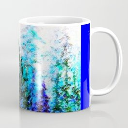 BLUE MOUNTAIN PINES LANDSCAPE Coffee Mug