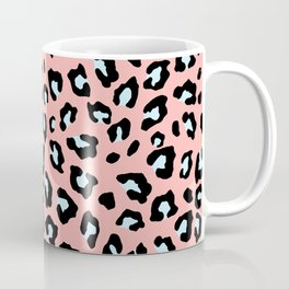 Leopard Print - Icy Peach Coffee Mug