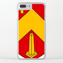 Beni Mered Coat Of Arms Clear iPhone Case