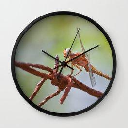 Nature in pastel shades Wall Clock