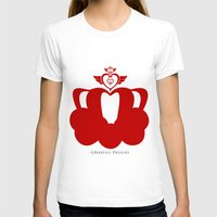 martell T-shirts featuring Sailor Moon Inspired Crown Red by G Martell