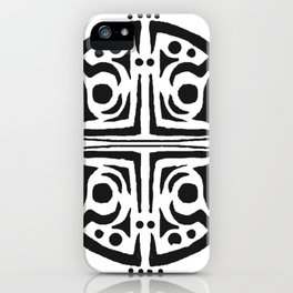 Rond,tatouage,mandal,tatoo iPhone Case