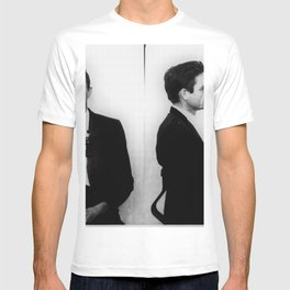 Johnny Cash Mug Shot Music lover Fan mugshot T-shirt