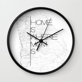 Mother's Day - Georgia Wall Clock