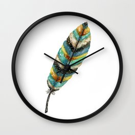 Riviere Feather Wall Clock