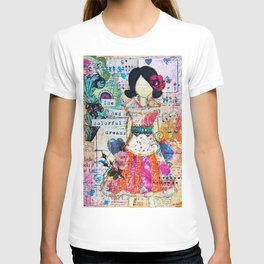 She had Colourful Dreams by Jolene Ejmont T-shirt