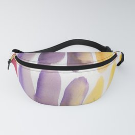 43| 190330 Watercolour Abstract Brush Strokes Fanny Pack