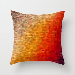 the square field of me Throw Pillow