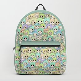 more faces never met (ver. 2) Backpack