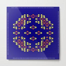 """Microchip"" 5 Metal Print"