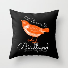 Opening Day Throw Pillow