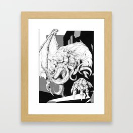 The Great Old One Framed Art Print