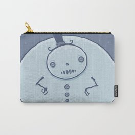 Pudgy Snowman Carry-All Pouch