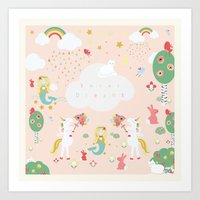 Sweet Dreams Print Art Print