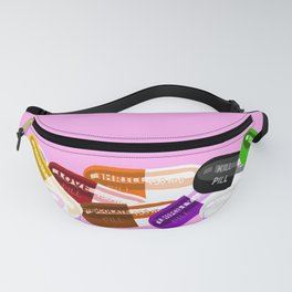 Pill Popper Party Pink Fanny Pack