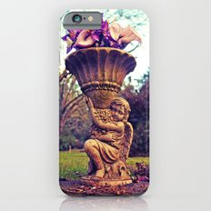 Graveyard statue iPhone 6s Slim Case