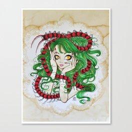Centipede Maiden Canvas Print