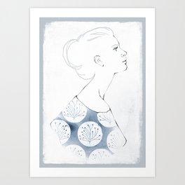Delia Art Print