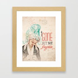 Dodo Love Framed Art Print