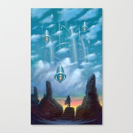 The Vault of Heaven Canvas Print
