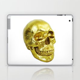 Goldish Skull Laptop & iPad Skin