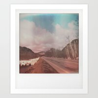 polaroid Art Prints featuring Polaroid by Jean-François Dupuis