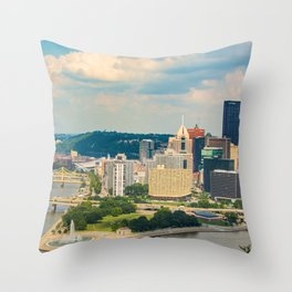 River Side Throw Pillow