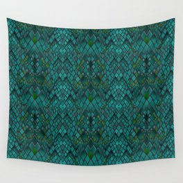 Digital graphics snake skin. Wall Tapestry