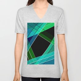 Abstract pattern 8 Unisex V-Neck