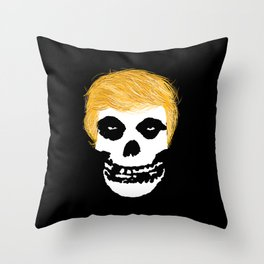 Trumpzig Throw Pillow
