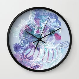 Alien Organism 25 Wall Clock