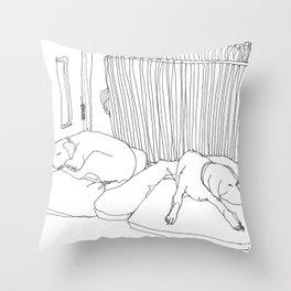 Seepin Throw Pillow